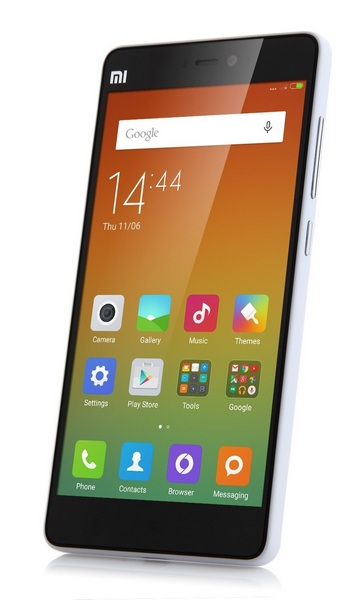 Xiaomi Mi4i - вид спереди