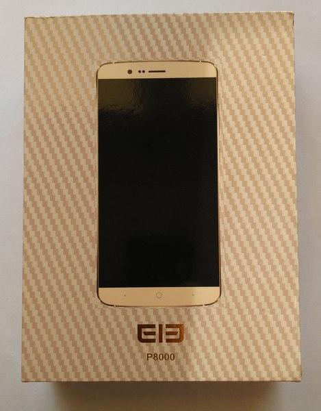 Elephone P8000 - Box