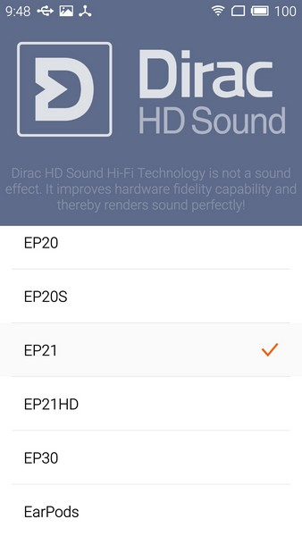 Meizu M2 Note - Audio 4