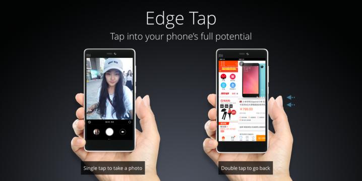 Xiaomi Mi 4c - Edge Tap