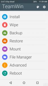 Xiaomi Custom Recovery TWRP