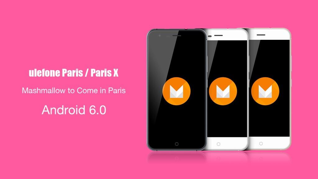 Ulefone Paris Update