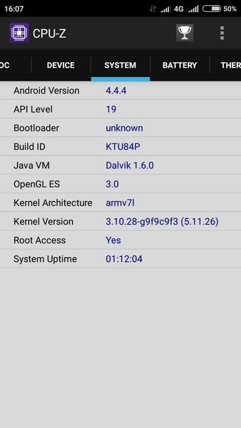 Xiaomi Redmi 2 - CPU-Z 3