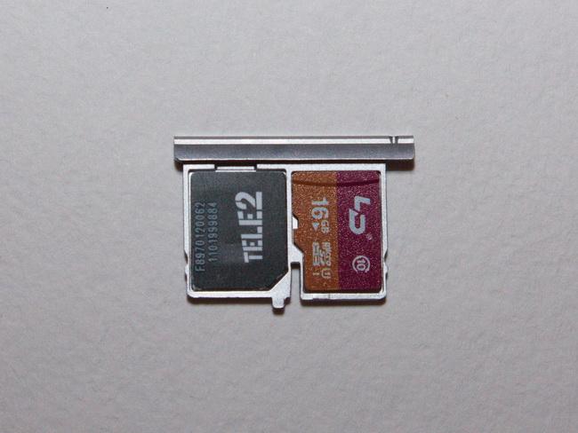 Bluboo Xtouch - SIM tray 2