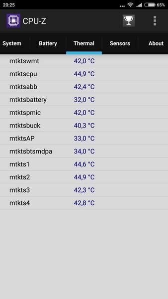 Xiaomi Redmi Note 3 - CPU-Z 5