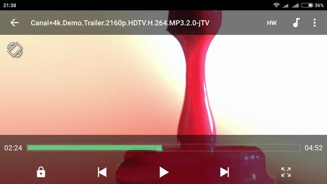 Xiaomi Redmi Note 3 - 4K video