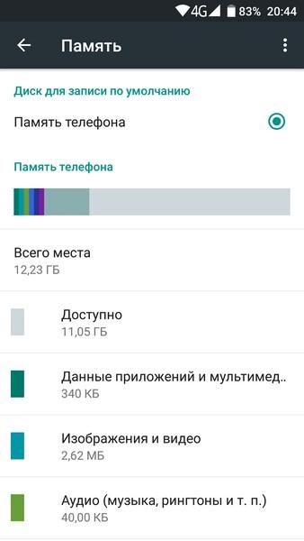 Ulefone Power - Memory