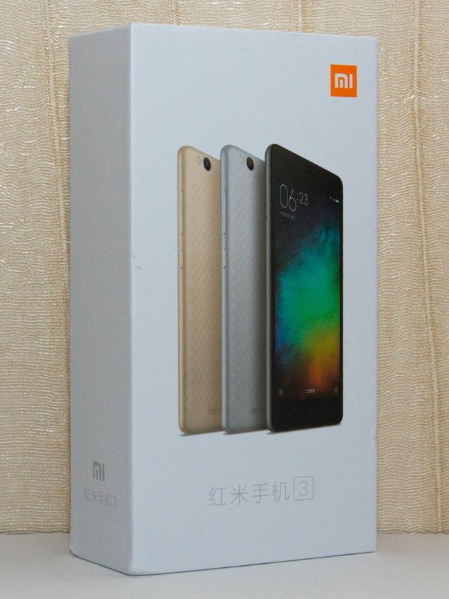 Xiaomi Redmi 3 - Box