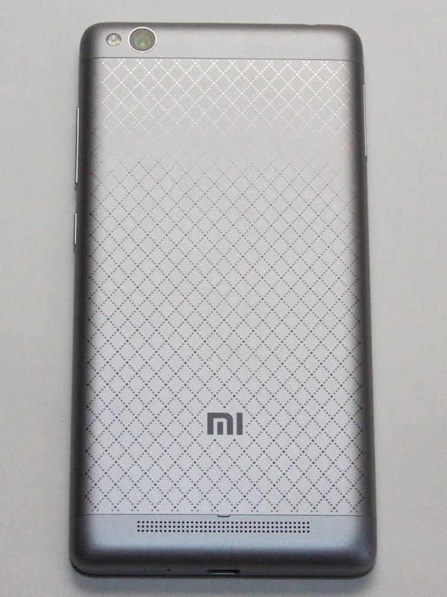 Xiaomi Redmi 3 - Back side