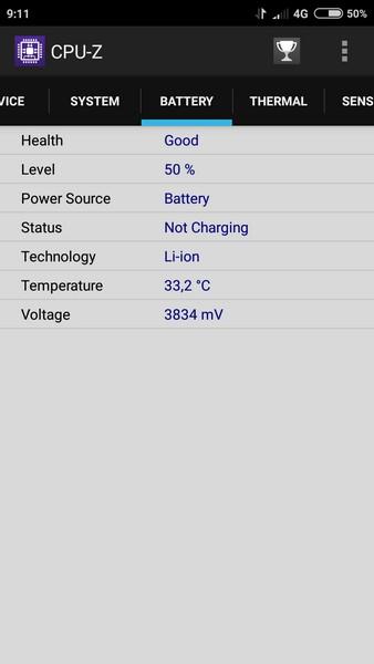 Xiaomi Redmi 3 - CPU-Z 4