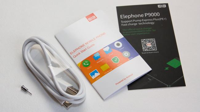 Elephone P9000 - Accessories