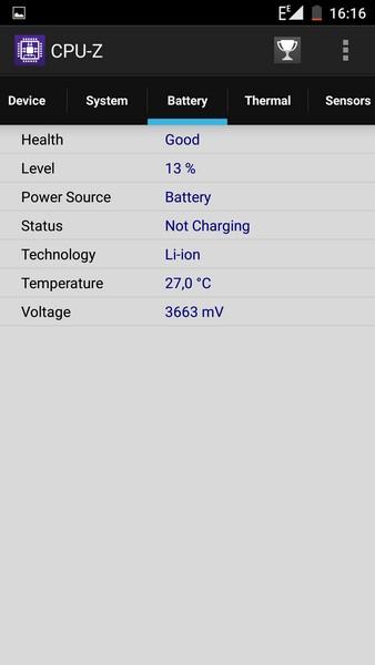 Elephone P9000 - CPU-Z 4