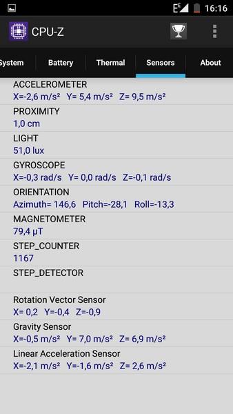 Elephone P9000 - CPU-Z 6