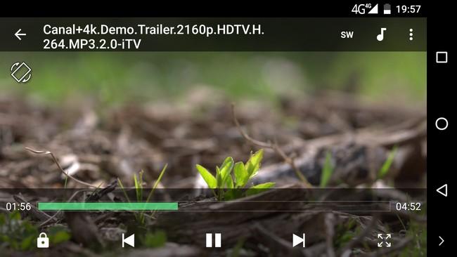 Elephone P9000 - 4K video