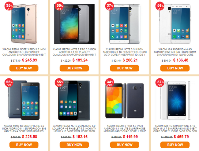 Everbuying Xiaomi Sale smartphone