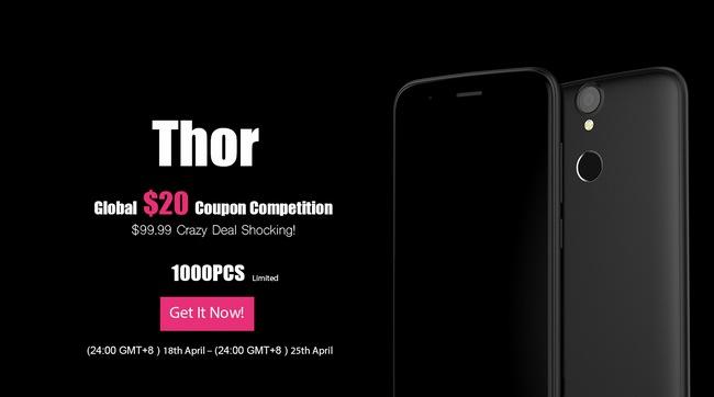 Купить Vernee Thor за $99.99