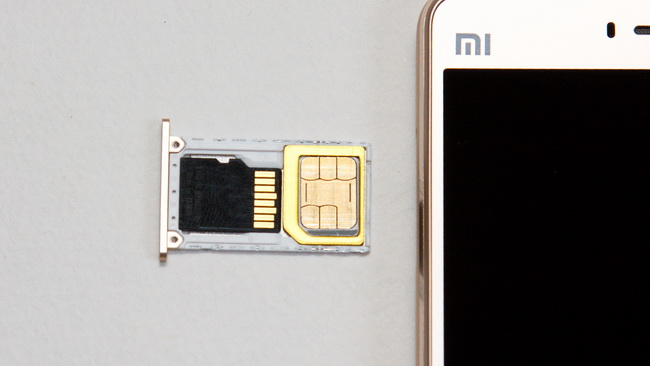 Xiaomi Mi4s - SIM