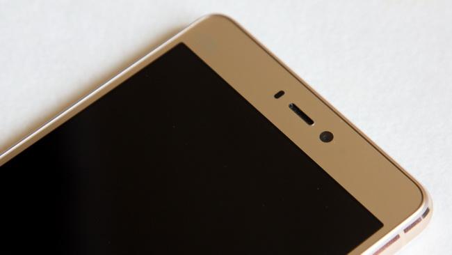 Xiaomi Mi4s - Face up side