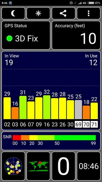 Xiaomi Mi4s - GPS Test