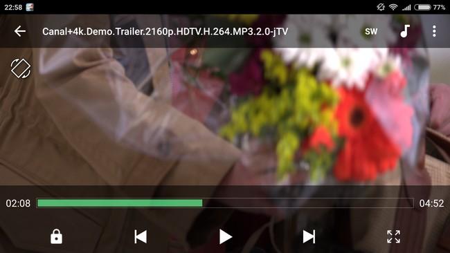 Xiaomi Mi4s - 4K video