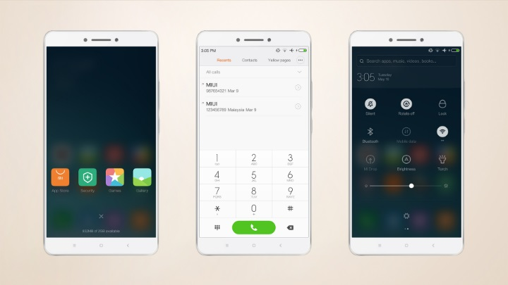 Mi Max - Light Theme 03