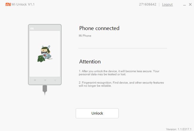 Unlock Xiaomi bootloader - 11