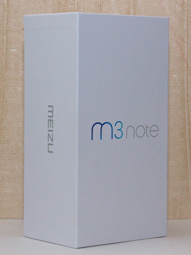 Meizu M3 Note Review - Box