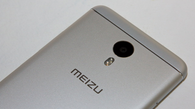Meizu M3 Note Review - Up back side