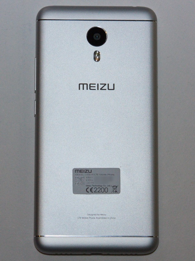 Meizu M3 Note Review - Back side