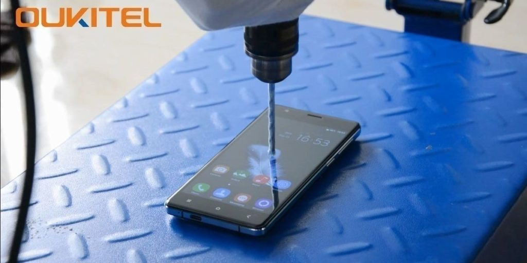 Oukitel K4000 - Drill