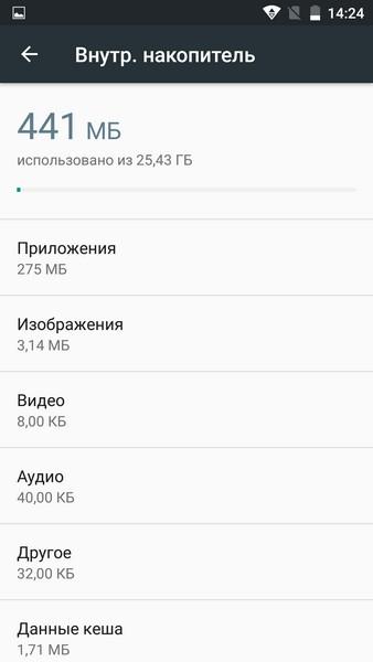 Elephone M3 Review - Memory