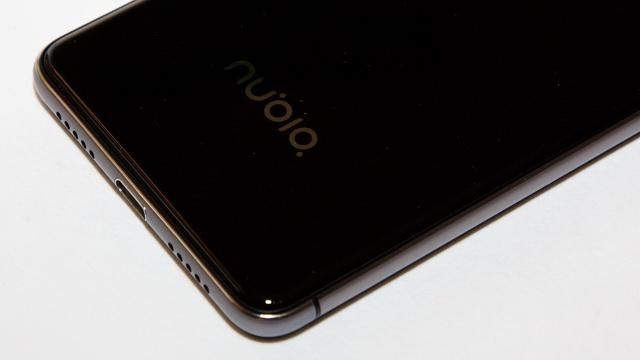 Nubia Z11 Mini Review - Down back side