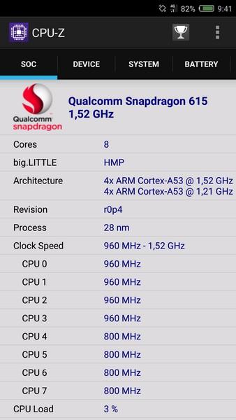 Nubia Z11 Mini Review - CPU-Z 1
