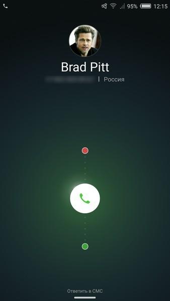 Nubia Z11 Mini Review - Incoming call