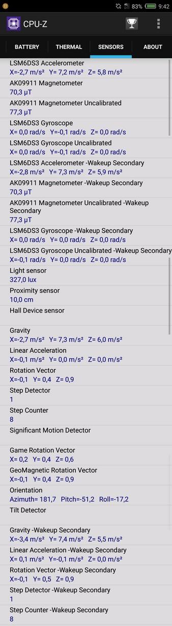 Nubia Z11 Mini Review - CPU-Z 6