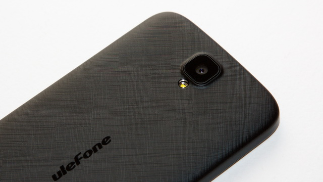 Ulefone U007 Review - Up back side