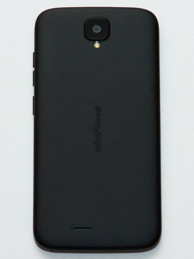 Ulefone U007 Review - Back side