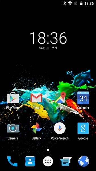 Ulefone U007 Review - Desktop