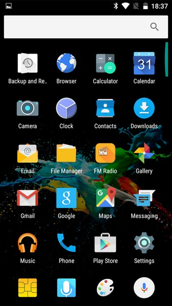 Ulefone U007 Review - Apps
