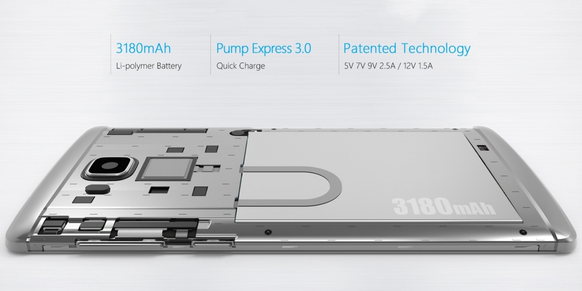Vernee Apollo Lite - Battery