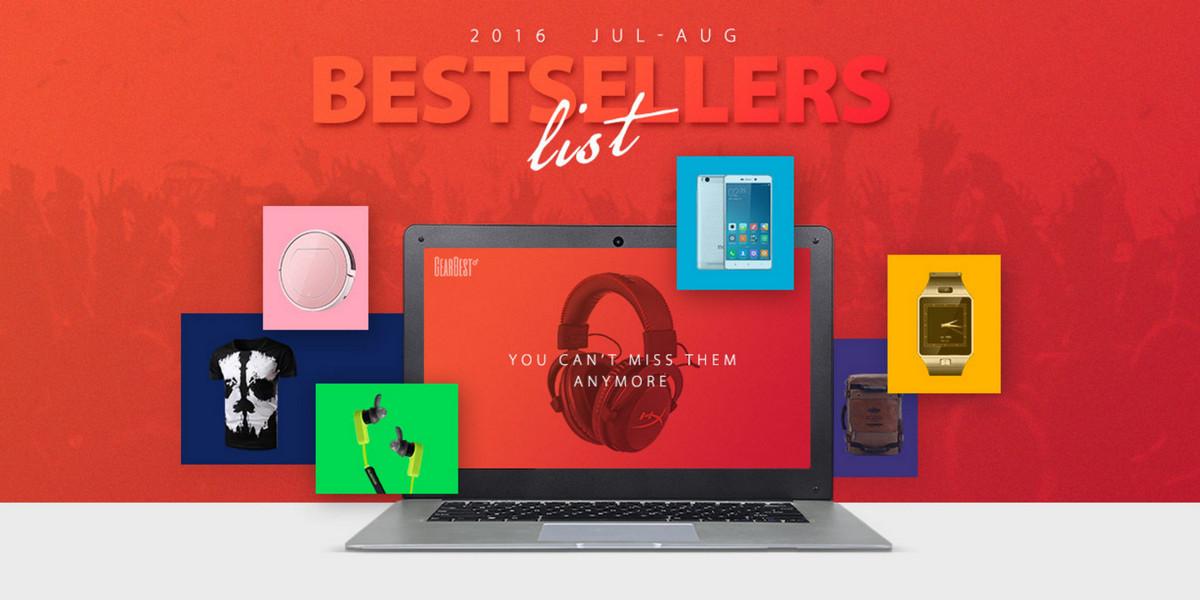 Bestsellers Gearbest