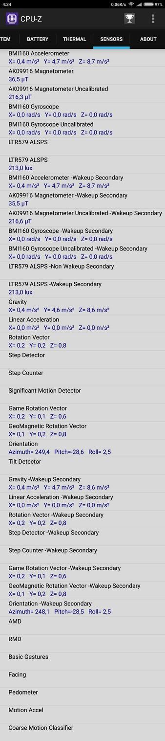 Xiaomi Mi Max Review - CPU-Z