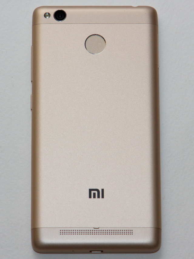 Xiaomi Redmi 3s Review - Back side