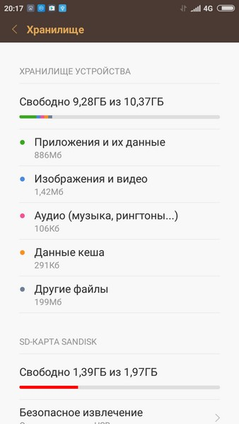 Xiaomi Redmi 3S Review - Memory
