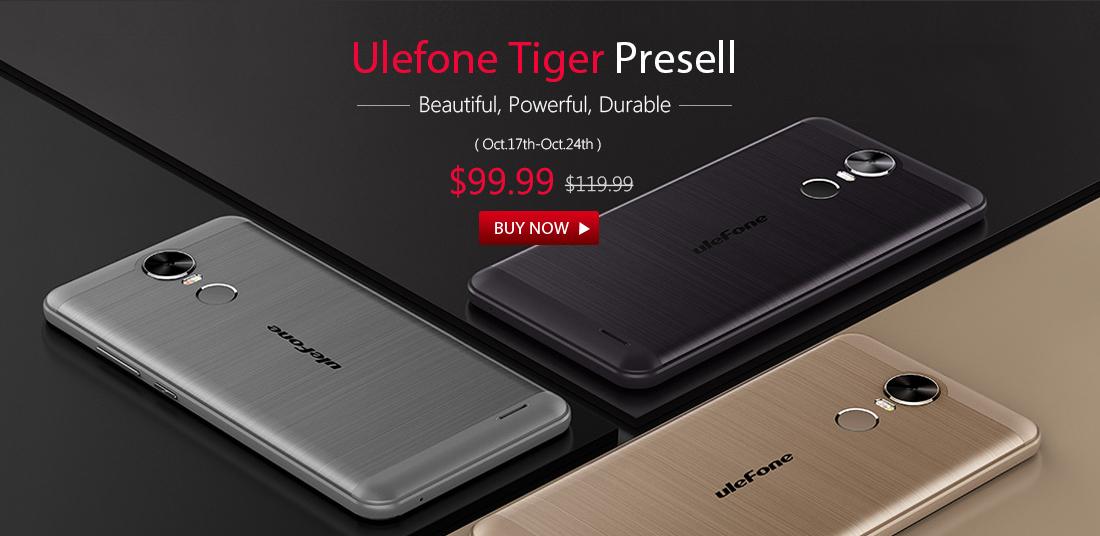 Ulefone Tiger Gearbest