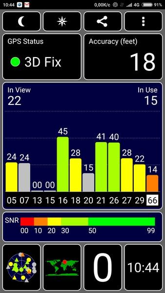 Xiaomi Redmi Note 4 Review - GPS test