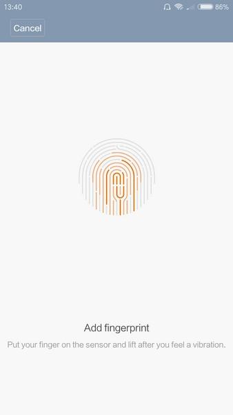 Xiaomi Redmi Pro Review - Fingerprint