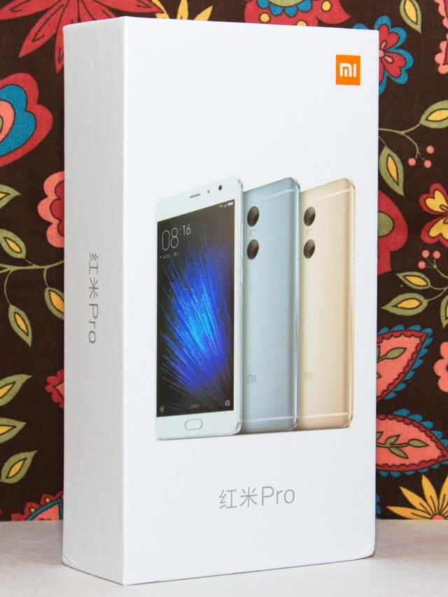 Xiaomi Redmi Pro Review - Box
