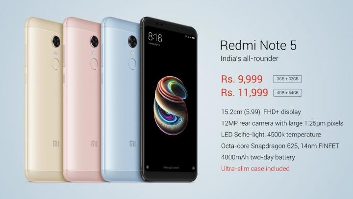 Xiaomi Redmi Note 5 - 01